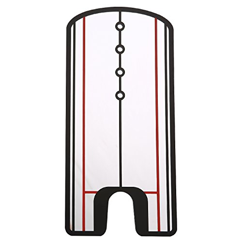 KingWare Putting Alignment Mirror Training Aid - Practice Your Putting Alignment Tool Indoor/Outdoor