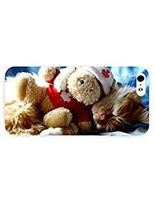 3d Full Wrap Case For Sam Sung Note 3 Cover Animal Kitten Sleeping With Its Toy