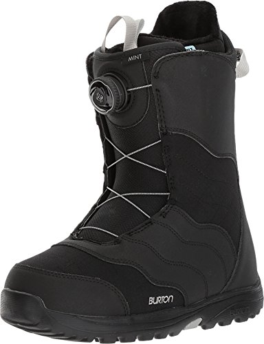 Burton Women's Mint Boa '18 Black 7 B US