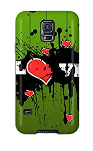 Protection Case For Galaxy S5 / Case Cover For Galaxy(hearts Love)