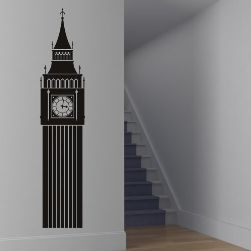 85064b69f7c azutura Big Ben Wall Sticker UK Landmark Wall Decal London Home Decor  available in 5 Sizes
