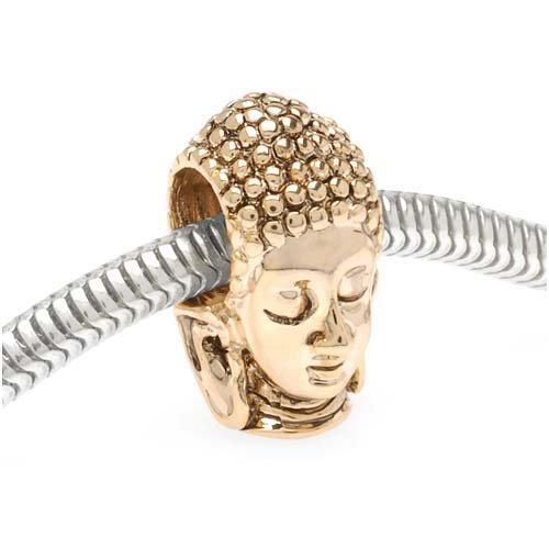 22K Gold Plated Buddha Head product image