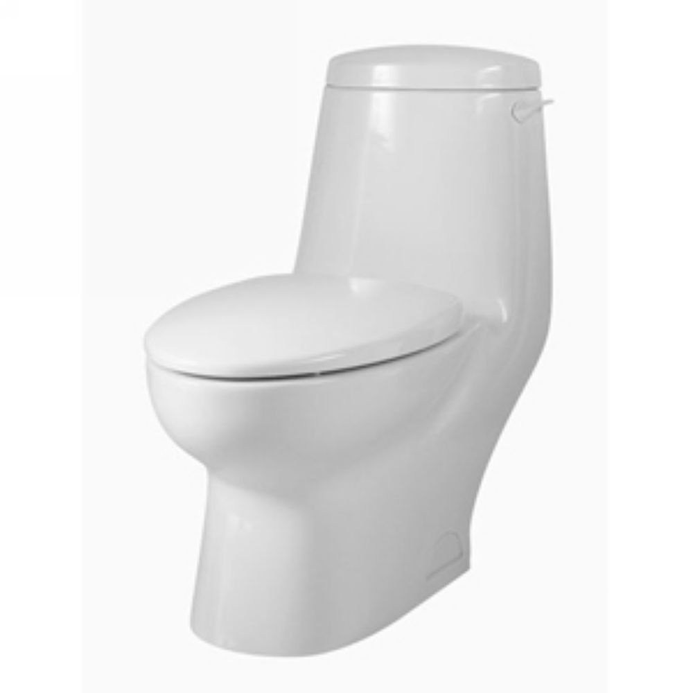 American Standard 2097.012.020 New Savona One Piece Elongated Toilet, White