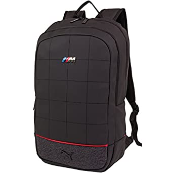 puma bmw backpack silver