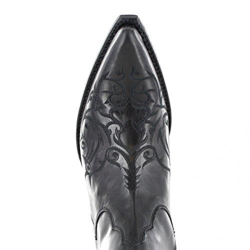 7216 Boots Sendra Western Nero Unisex Stivali Adulto pqH5HxCc
