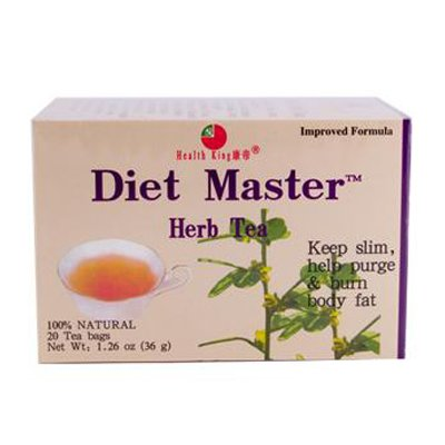 Diet Herb Master Tea (HEALTH KING MEDICINAL TEAS TEA,DIET MASTER, 20 BAG)