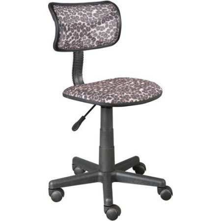 Urban Shop Swivel Mesh Task Chair (Leopard)