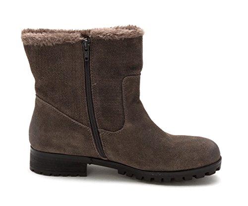 BareTraps Bare Traps Womens Sabella Closed Toe Ankle Fashion Boots Grey rBQMk