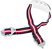 Safety Helmet Lower Jaw Band Universal Hard Hat Parts Chin Strap Detachable Sling for Work, Home, and General