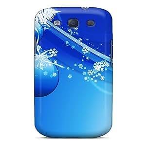 Cute Appearance Cover/tpu Blu X Mas Case For Galaxy S3
