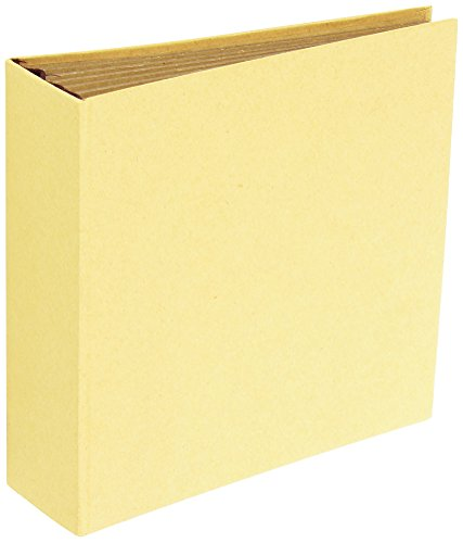 Prima Marketing 6 Pages Memory Hardware Square Kraft Chipboard Journals, 6.25 x ()