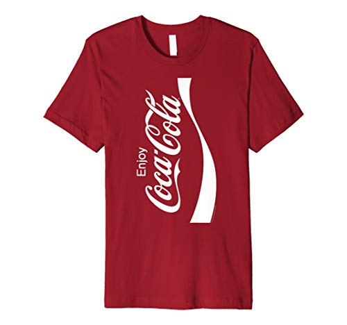 Coca-Cola Coke Can Vertical Logo Costume Premium T-Shirt ()