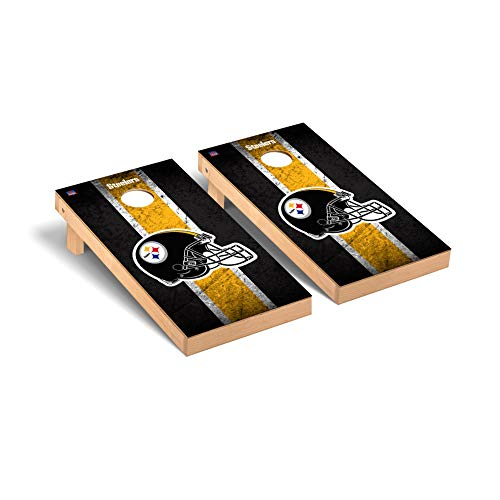 Pittsburgh Steelers NFL Football Regulation Cornhole Game Set Vintage Version -  Victory Tailgate, 657768