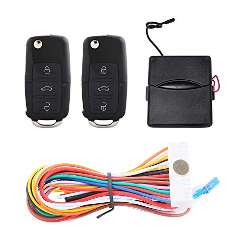 EASYGUARD KE05-YZ Keyless Entry System for Cars remote lock unlock Central Door Locking panic mode remote trunk release DC12V