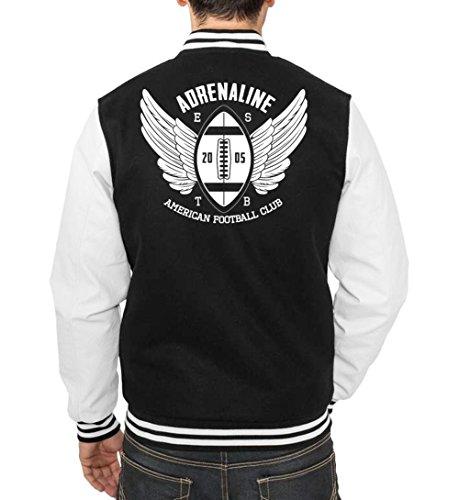 Adrenaline Ball College Vest Black Certified Freak
