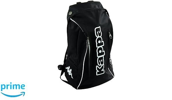 Kappa Kyze Mochila Tipo Casual, 50 cm, 27 litros, Negro: Amazon.es: Equipaje