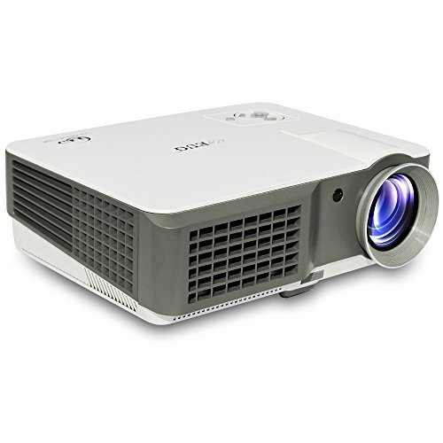 Usa free shipping eug portable hd dlp 3600 lumens high for Highest lumen pocket projector
