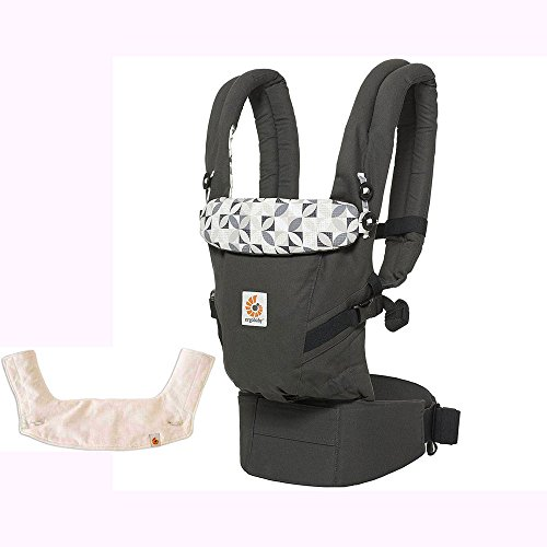 Ergo Baby USA 3 Position Adapt Baby Carrier - Graphic Gre...