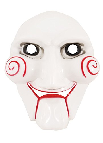 Rimi Hanger Adults Halloween Party Jigsaw Face Mask