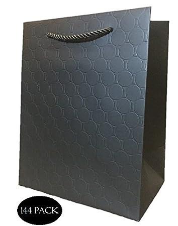 Bulk Black Gift Bags Wholesale Medium Matte Wedding Retail Shopping Birthday Clients 8quot