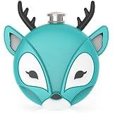 Deer Flask in Blue by TrueZoo