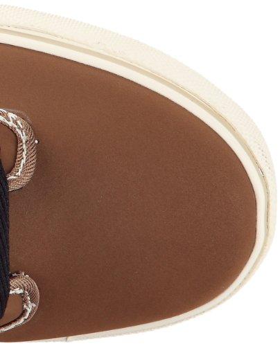 Globe Motley mid GBMOTLEYM - Zapatillas de cuero unisex Marrón (Braun (toffee/black Fur 16204))