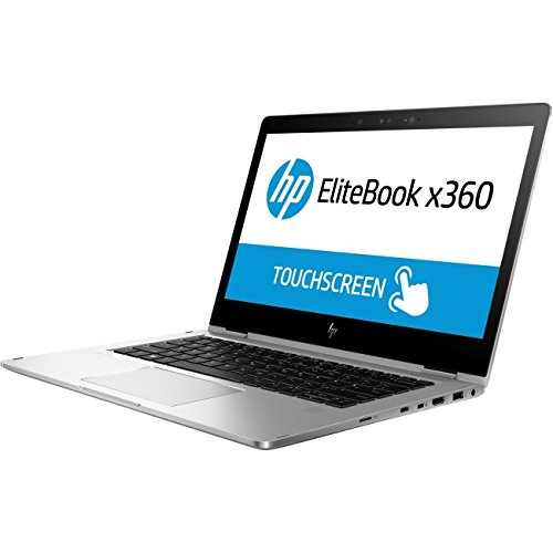 "Price comparison product image HP Elitebook X360 1030 G2 13.3"" Flip Design Notebook, Windows, Intel Core i5 2.5 GHz, 8 GB RAM, 256 GB SSD , Silver (1BS96UT#ABA)"