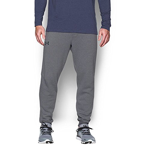 Men's Under Armour Rival Cotton Novelty Jogger, Graphite, Four Large Tall Size