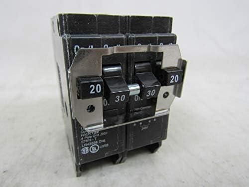 Eaton BQ220230 20A 30A DP Circuit Breaker