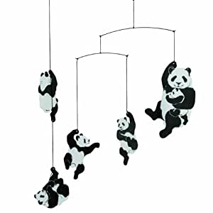 Flensted Mobiles Nursery Mobiles, Panda Mobile