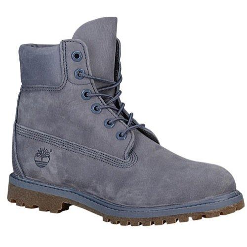 "Timberland Womens Earthkeepers 6"" Premium Boot Folkstone Grey Nubuck - Mono All Leather 5.5M"
