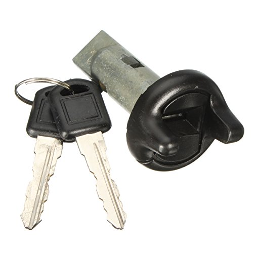 Gift-4Car - Ignition Key Switch Lock Cylinder + 2 Key For Pontiac/GMC/GM/Chevy LC1353 702671 Plastic and Metal Silver