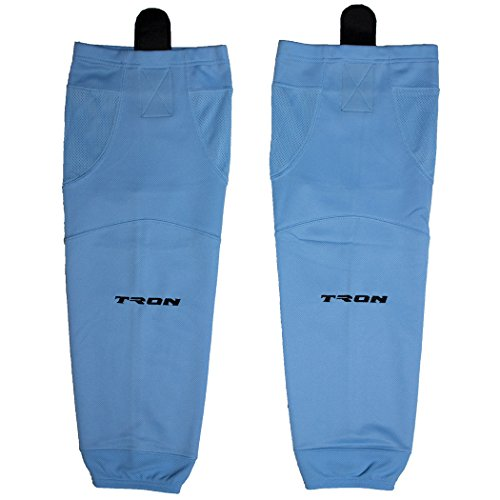 (TronX SK100 Dry Fit Ice Hockey Socks (Sky Blue - 22 Inch) )