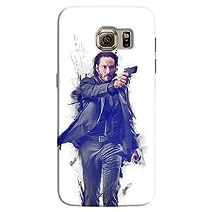 Cover It Up - John Wick Fade Galaxy S7 Hard Case