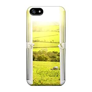 For Iphone 5/5s Premium Tpu Case Cover View From A Window Protective Case