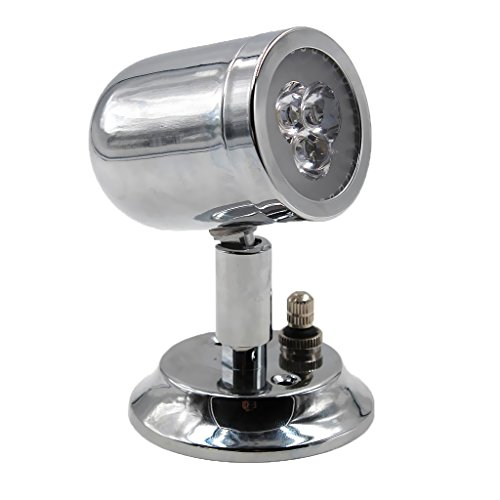Sharplace Lampe à LED Lumière d'Interièure 12V 120 Degrés d'Éclairage pour Camping-Cars Caravane Bateau Voiture Auto Maison