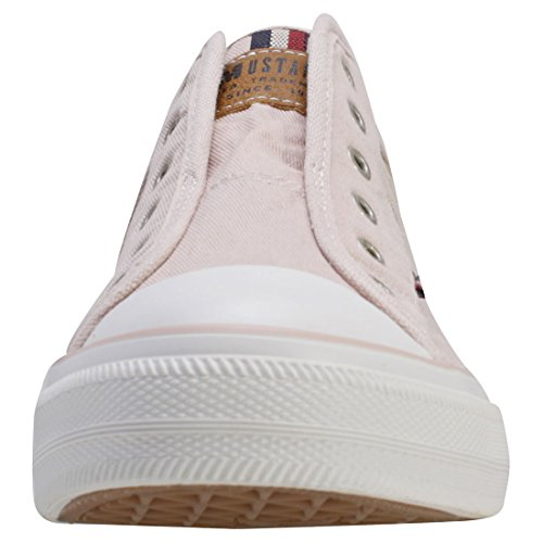Rosso Donna Mustang rose Infilare 1272 Sneaker 555 401 555 vqPXwqY