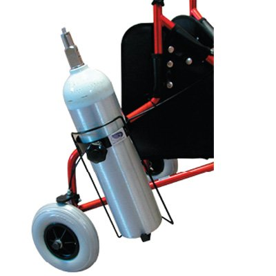 O2 Tank Carrier for Rollators O2 Tank Carrier forRollators -