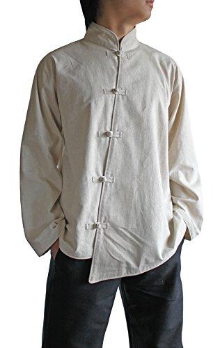 Sawan-Mens-Natural-Hemp-Chinese-Style-Asymmetry-Jacket