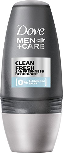 Dove Men+Care Deo Roll-On Clean Fresh ohne Aluminium, 3er Pack (3 x 50 ml)