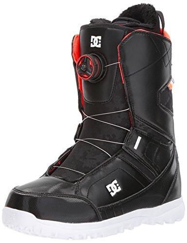 DC Women's Search Boa Snowboard Boots, Black, 9.5 ()