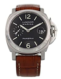 Panerai Luminor Marina automatic-self-wind mens Watch PAM 48 (Certified Pre-owned)