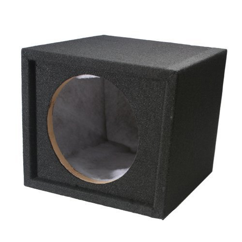 Absolute USA SS10 Single 10-Inch Sealed Subwoofer Enclosure