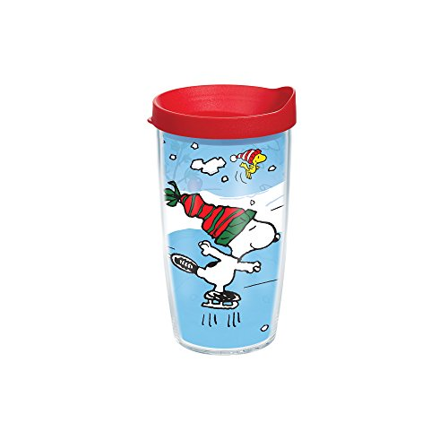 Tervis Peanuts Christmas Individual Wrap Tumbler with Red...