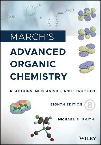 Top advanced organic chemistry march for 2020