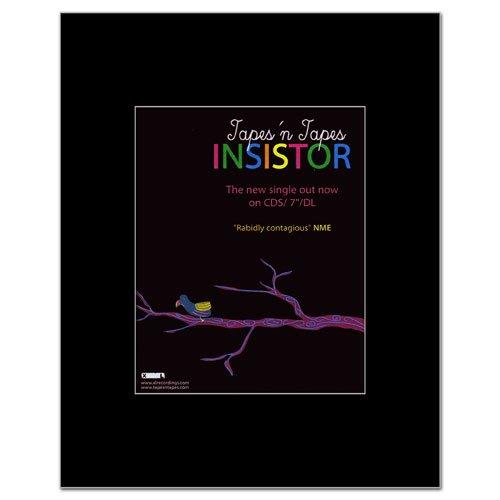 TAPES N TAPES - Insistor Mini Poster - 14x11cm