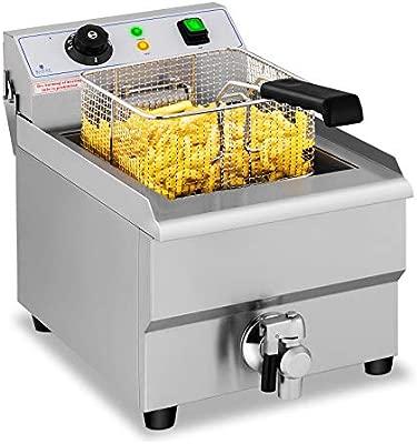 Royal Catering Freidora Eléctrica Para Hostelería 16 Litros ...
