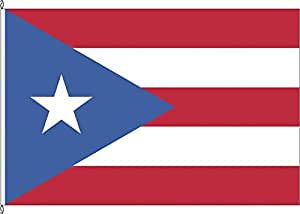 Banner Bandera Puerto Rico–120x 300cm–Bandera y banner
