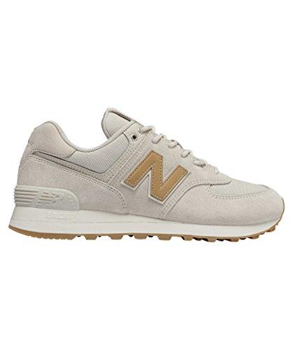 Nuovo Equilibrio Damen Wl574c Glitter Pack Sneaker, Beige / Hellbraun