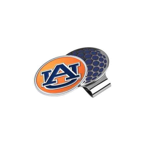 (LinksWalker NCAA Auburn Tigers Golf Hat Clip with Ball Marker)